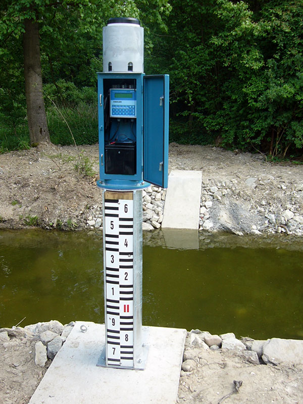 Combined Gagin And Rain Gauge Stations Fiedler