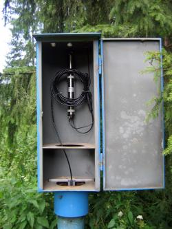telemetric station, measurement in boreholes, conductivity, temperature