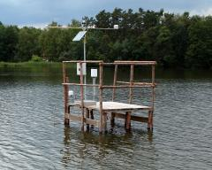 Measurement of chosen variables in water tanks and lakes (ponds)
