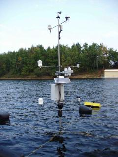 floating meteorological station