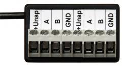 Modul pro rozšíření počtu svorek sběrnice RS485