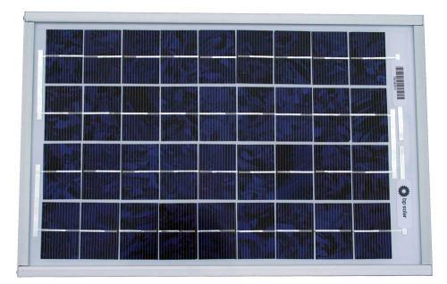 SOLAR-12V/10W - solární panel s držákem