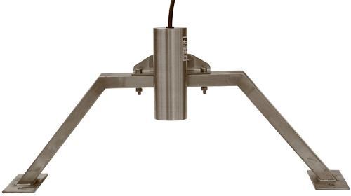 Držák ultrazvukové sondy pro Parshallův žlab velikosti 1 - 3